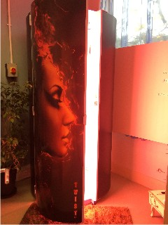 collatan twist maxi sunbed