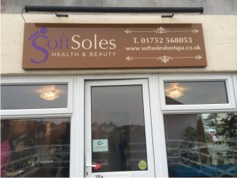 soft soles salon front